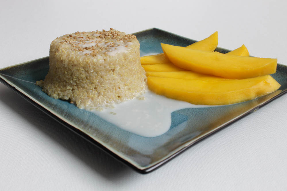 Quinoa Pudding With Mango Recipe — Dishmaps